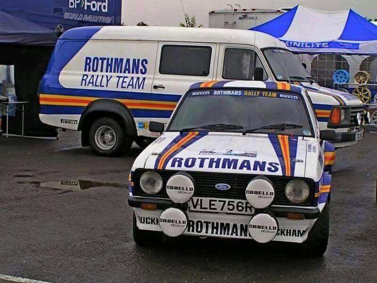 Rothmans Mk2 Escort Amp Service Barge Rally Teams