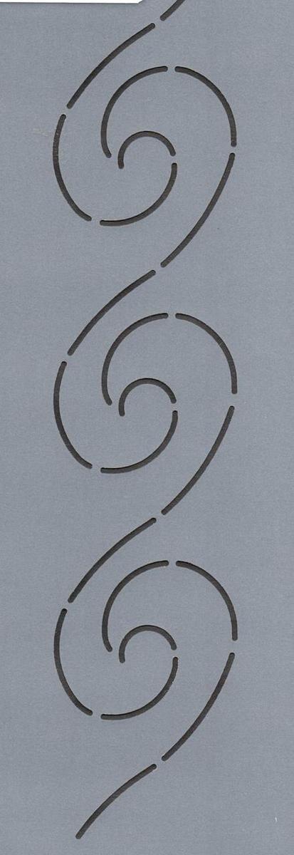"""Wave Border 5"""" - The Stencil Company"""