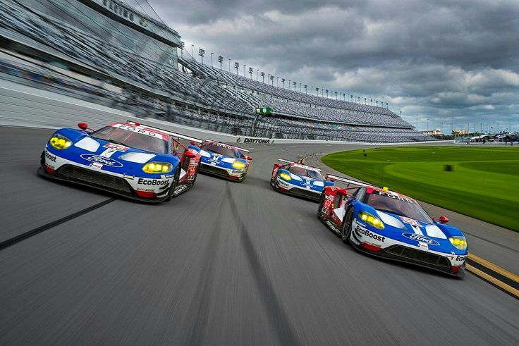 Ford qualified 1-2-3 in the GTLM class for the 2017 Daytona 24 Hours.   Joey Hand took first in the #66 Ford GT, followed by Richard Westbrook and Olivier Pla in the #67 and #68 cars.  Ferrari man Alessandro Pier Guidi topped the GTD class in the #51 Ferrari 488 GT3 leading Alessandro Balzan in the #61 Ferrari 488 GT3. Marco Sorensen rounded off the top 3 in GTD in the #98 Aston Martin Vantage.