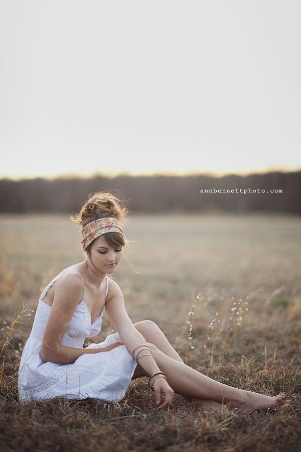 Boho chic photo shoot by Ann Bennett Photography in Tulsa, OK    bohemian hair scarf #boho #bohemian #chic