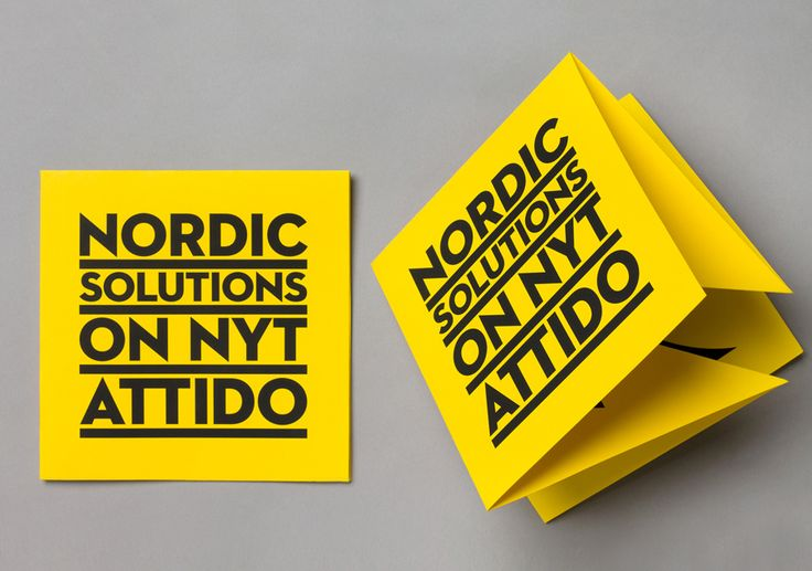 Print designed by Bond for Finnish information system development and optimisation company Attido