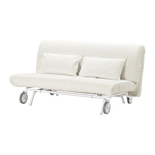 IKEA PS Sofabed slipcover, Gräsbo white Gräsbo white  This couch looks like something i will find in a psychward movie
