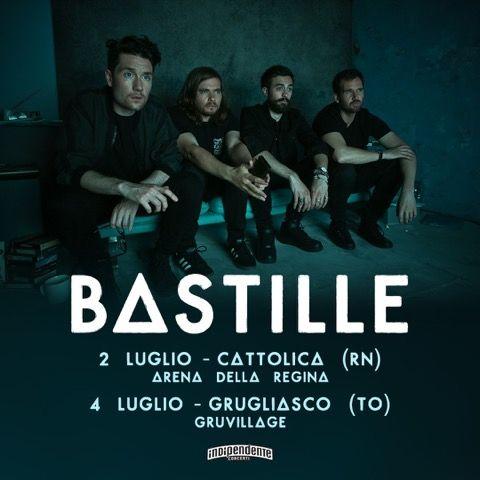 Annunciate due nuove date estive per i Bastille nel mese di luglio! Acquista ora il tuo biglietto!