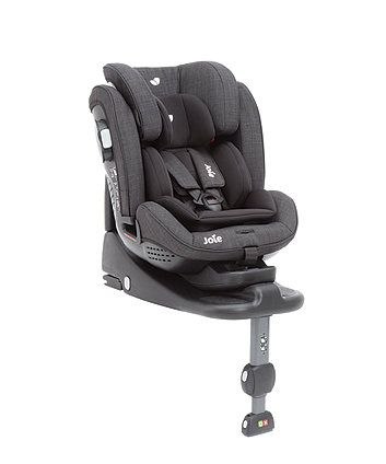 The Joie Stages ISOFIX Group 0+/1/2 Car seat is suitable from birth and can be used up to the age of 7 years old and converts to a group 2 booster from 15-25kg. A travel champion to grow with your child, the Joie Stages features an extended rearward facing position that is suitable right up until 18kg (approx. 4 years old).