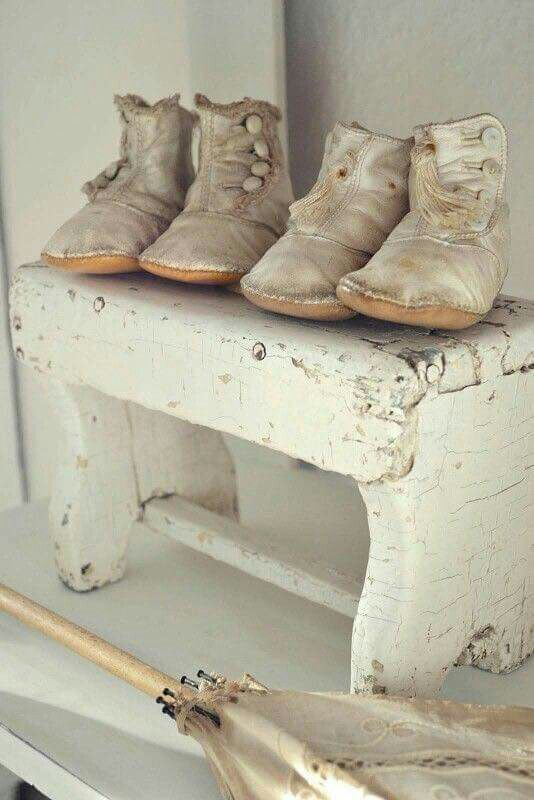 3 of my favorite things  Shabby Chic ~ Shoes & Babies.