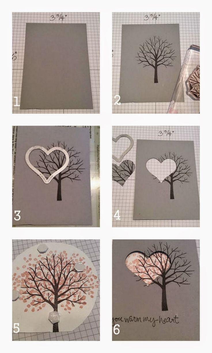 Eine wundervolle #Bastelidee für individuelle #Grußkarten Sheltering Tree Spotlight Card