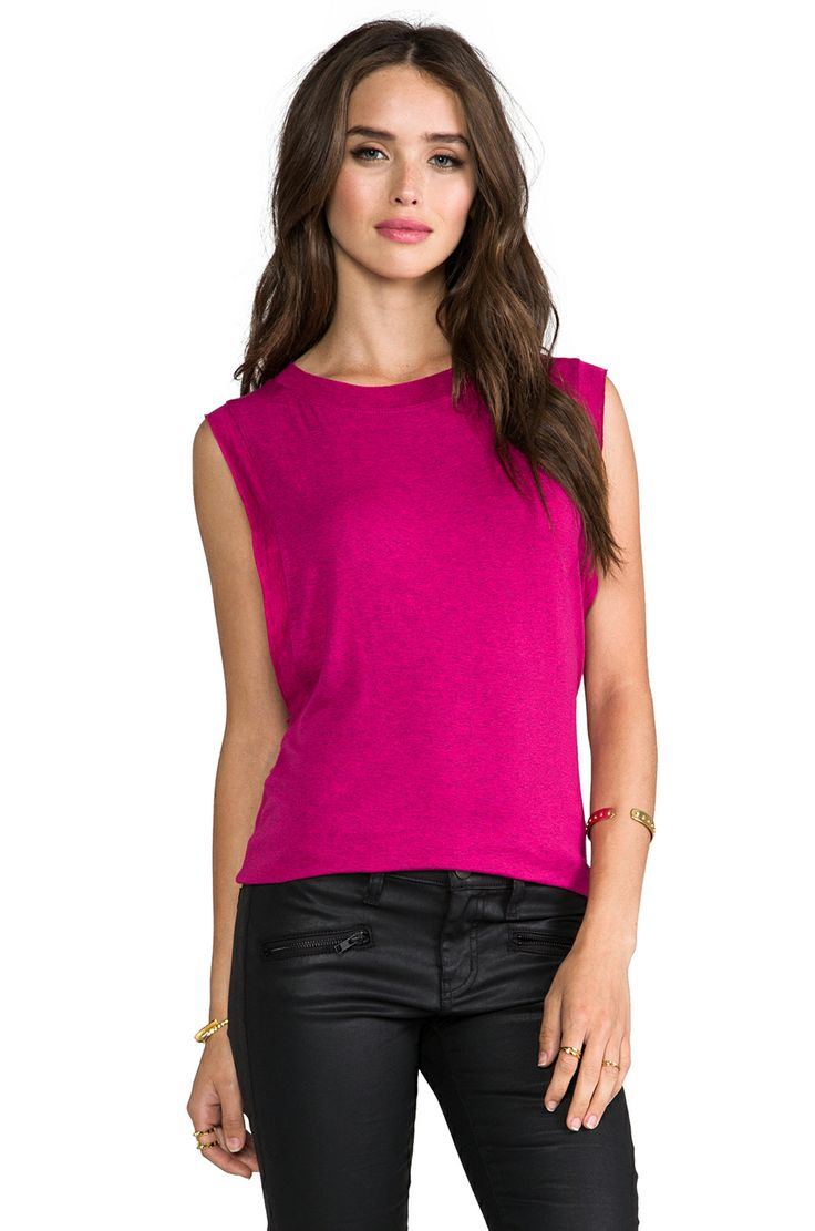 Riller & Fount Alex Muscle Tank in Pomegranate from REVOLVEclothing