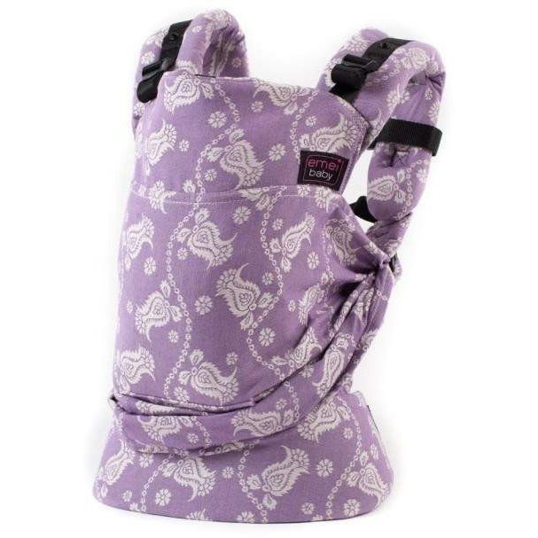 Emeibaby Carrier Full Paisley Lila: Little Greenie
