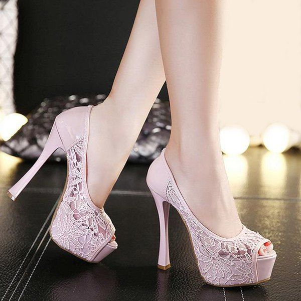 Fashion Buckle Trendy Peep Toe Shoes,Cheap Trendy on Sale!