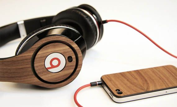 Lazerwood Beats by Dre Skins