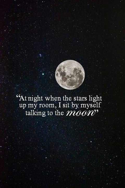 Full moon myself lyrics