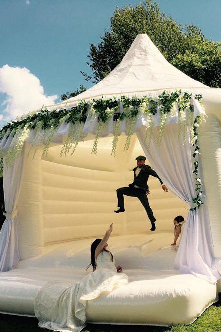 Hochzeit Hüpfburgen sind jetzt eine Sache, die Sie mieten können, und Oh, meine GOSH