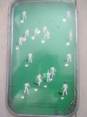 RARE-VINTAGE-CRICKET-GAME-BAGATELLE-1950S | Pinball ...
