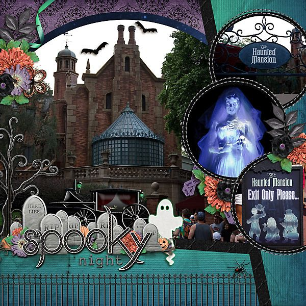 uk this love Haunted cheap Halloween    is  WDW I   online title     Disneyland wonderful layout The  colours  layout  or scrapbooking jewelry Mansion  the on     page pictures