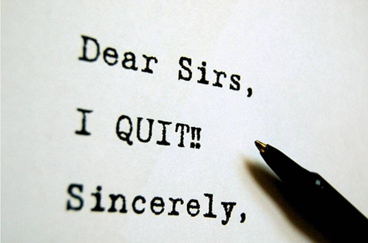 Immediate Resignation Letter Resignation letter - immediate resignation letter sample