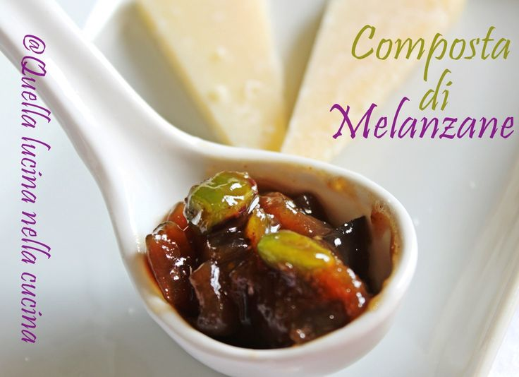 Questa composta di melanzane ha un sapore straordinario, ottima sui formaggi, sono sicura che vi conquisterà. Idea da regalare a Natale!