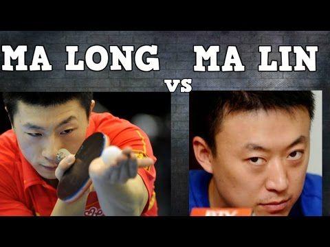 MA LONG vs MA LIN (French 2006/Final/Table tennis/ Tennis de table/Tischtennis/탁구/卓球) - YouTube