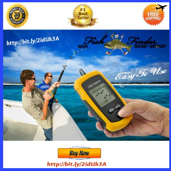 Easy To use Fish Finder - Fish Locator LCD Portable with Sonar Sensor  With this Fish Finder Fish Locator LCD Portable that uses sonar technology, now you can see exactly on an LCD screen if there are any fish in the area!  Did you ever spend h...