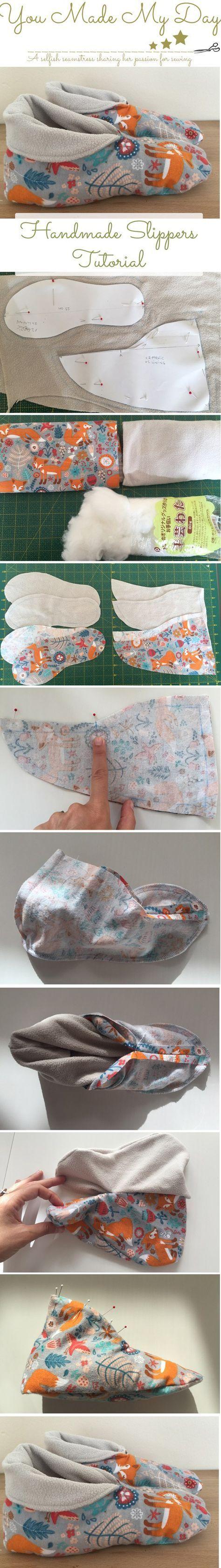 faits à la main-pantoufles-couture-tutorial par vous-fait-mon-jour-couture-blog