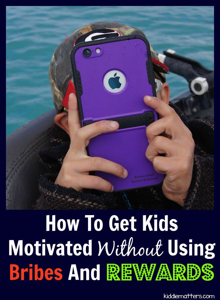 Parents and teachers often use bribes and rewards to motivate children, but this can stifle a child's intrinsic motivation. Children who are self motivated typically find success in school and life.