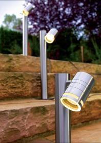 aranżacja wnętrz - Wykorzystano oprawę Ogrodowa lampa stojąca Zilly II (D830031) – Deko Light
