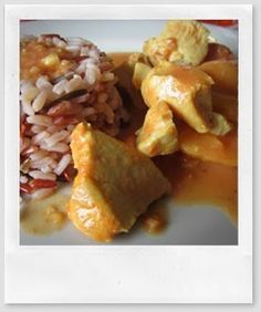Mon livre de cuisine: Curry de poulet au micro cook