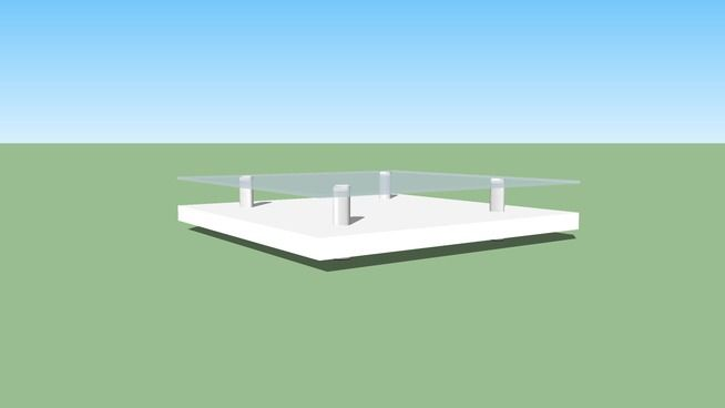 Living Room Table - 3D Warehouse