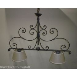 Wrought Iron Chandelier. Customize Realisations. 221