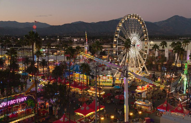 Whether you're going for the rides, animals, food or even the art, the LA County…