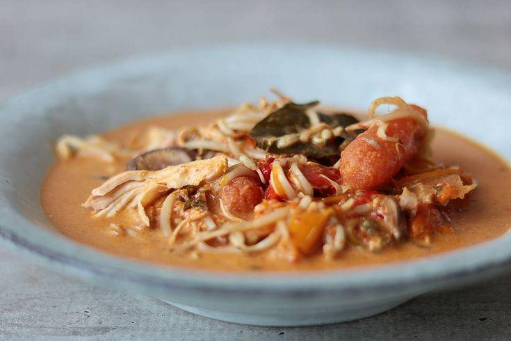 Rode curry uit de slowcooker!