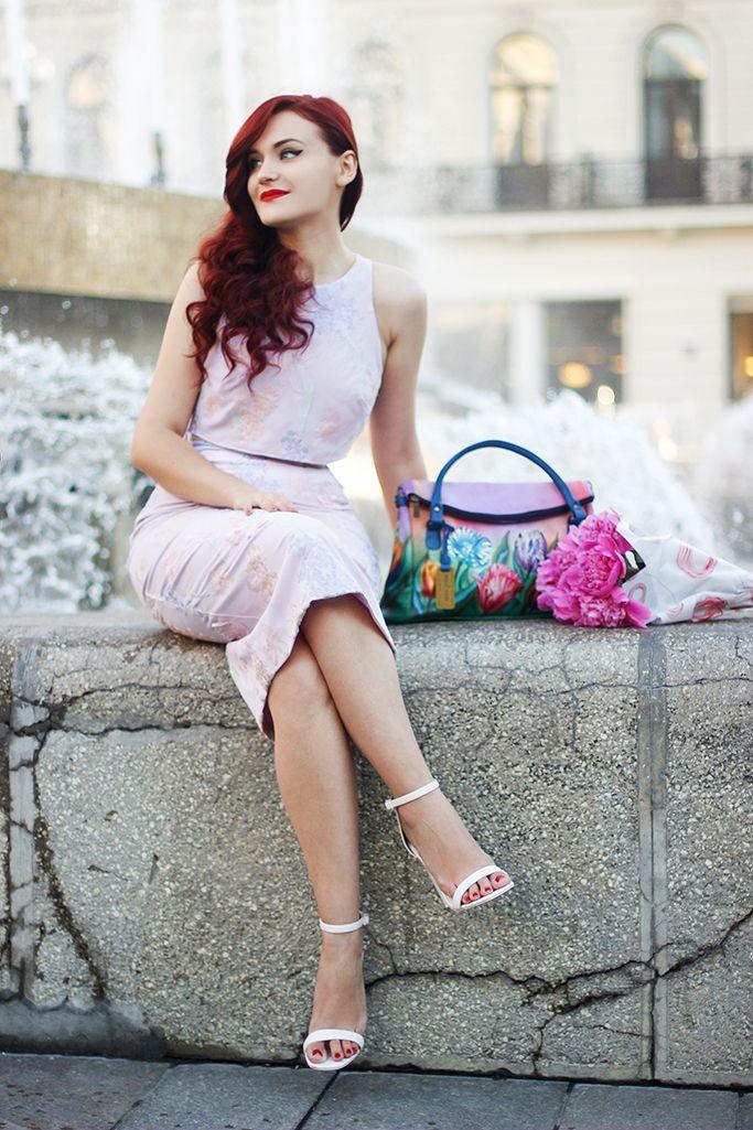 Pastels #lilac #floral