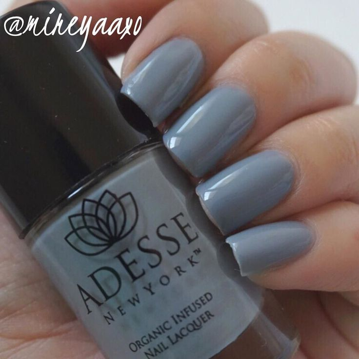 Swatch of this polish I got in my @ipsy bag by @adesse_ny  Adesse New York Organic Infused Gel Effect Nail Lacquer in Irina completely obsessed with this formula! #ipsy #adessedreamer #Sweepstakes by mireyaaxo