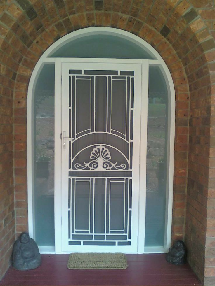 Want security - but not a typical door - then check this out - we added a flange fitted Crimsafe screen door to this heritage door profile in a residence in Mudgeeraba. The best of both worlds for this customer