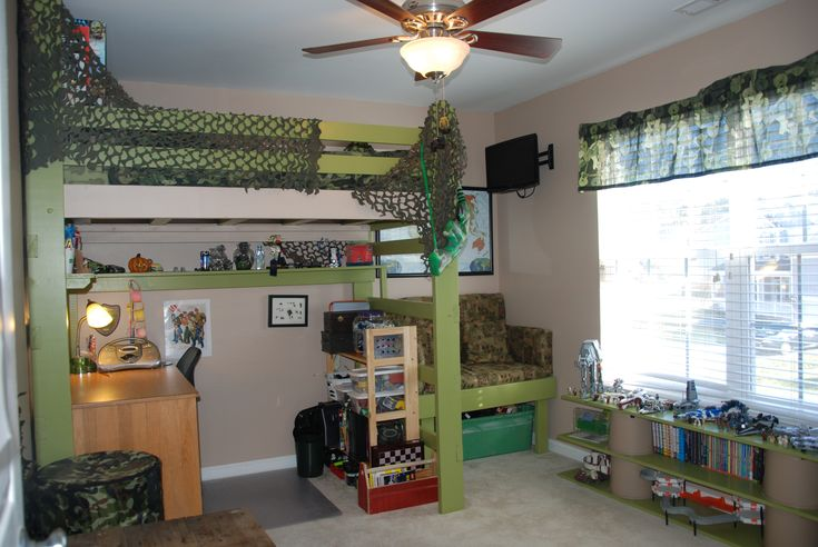 We recently redid my 10 year old sons room it 39 s a small for Room decor ideas for 12 year old boy
