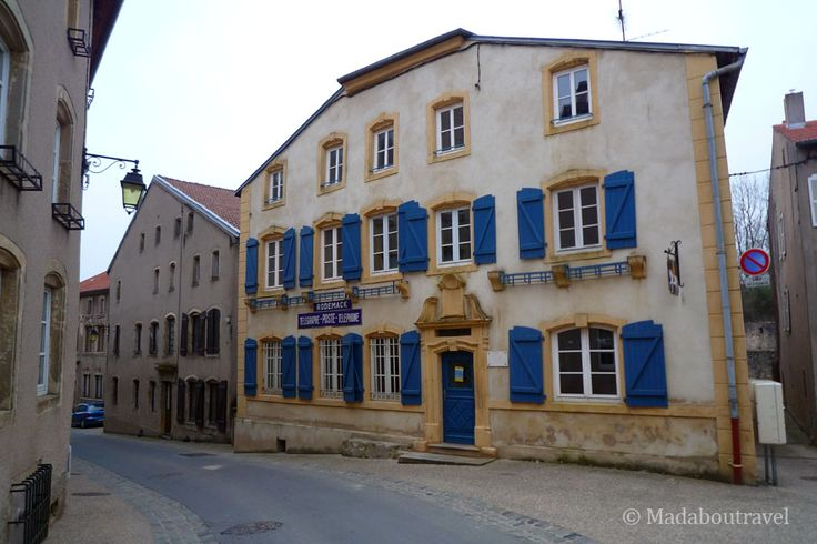 Old post Office in Rodemack, Lorraine