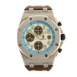 AUDEMARS PIGUET - a limited edition gentleman's Royal Oak Offshore Montauk Highway wrist watch.
