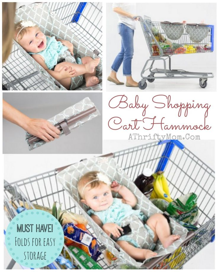 Binxy Baby Hammock for the Shopping cart, SHopping cart Hammock folds for easy storage and safe option with LESS bulk for your little one.Great Baby shower gift idea