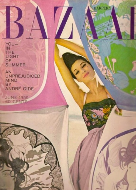 there's something about fashion mags from the 50s.