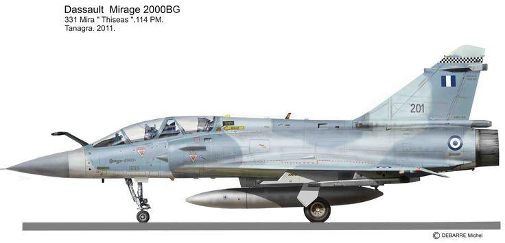 HAF Mirage 2000BG 331SQ 114PM TANAGRA 2011