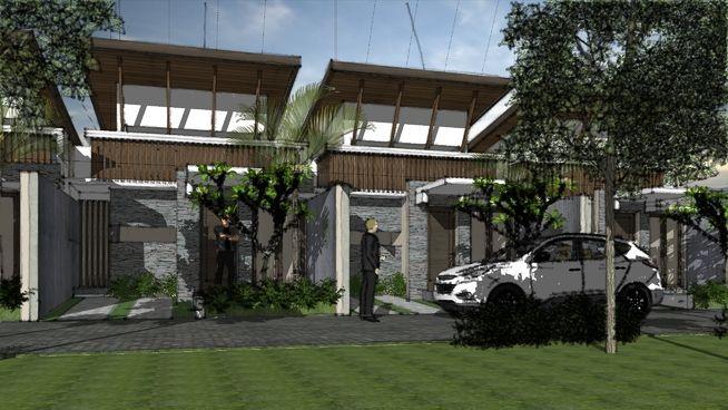 Konsep Rumah Tropis Tipe AWLIYA by aguscwid - 3D Warehouse