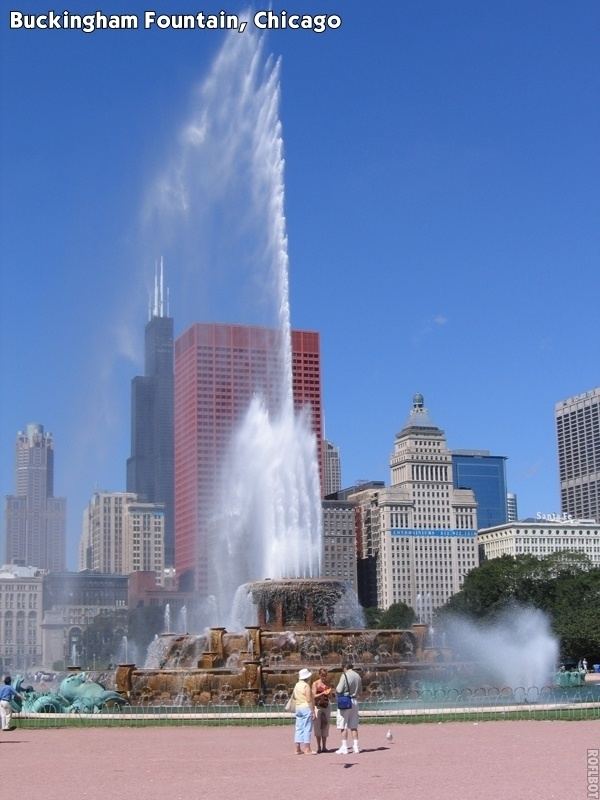 buckingham fountain chicago-#41