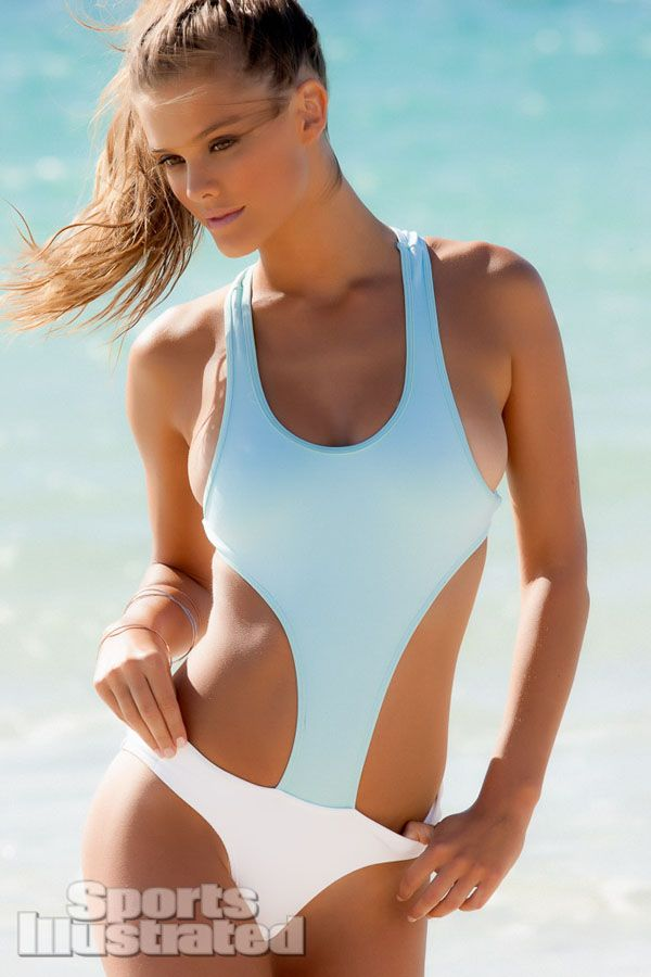 Nina Agdal, Danish model, who was rumored to be dating with American singer, Joe Jonas in 2012
