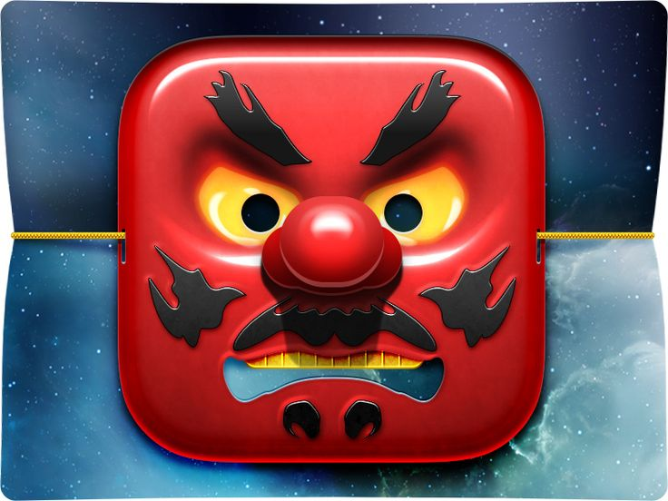Japanese Tengu iOS Icon