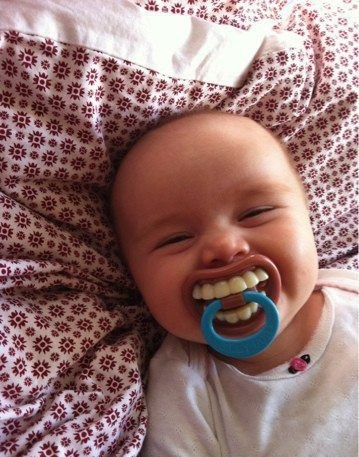 Funny Pacifier Idea :)