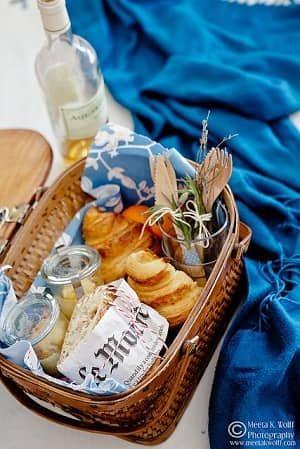 ピクニックバスケット・お弁当ランチボックスアイディア