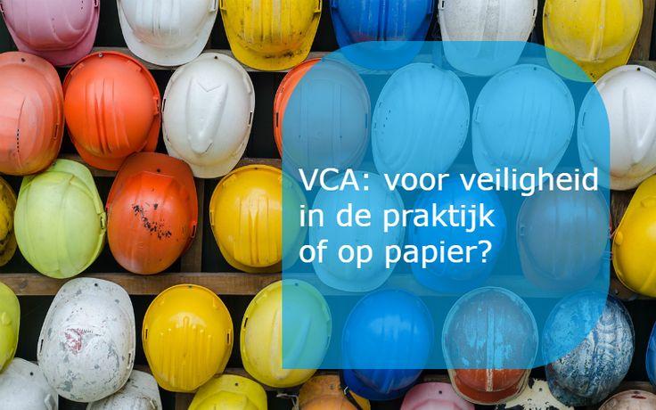 Zorgt VCA voor veiligheid (of alleen op papier)?  Voor een veilige werkplek is meer nodig dan een opgeleide BHV'er, een brandblusser of een intern oproepsysteem. Het gaat om gedrag tijdens het werk. Zeker in risicovolle werkomgevingen zoals in de bouw is dit van toepassing. Maar kun je veiligheid leren vanuit een boek of niet?