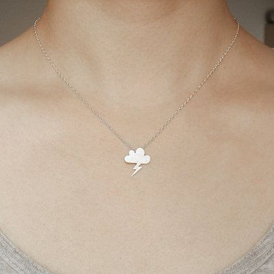 Thundercloud Necklace, oh so quirky and a great novelty piece :)
