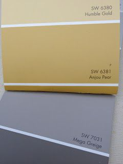 Sherwin Williams color greige | Language of Color and Texture: Mega Greige, Anjou Pear a la LAZY BOY