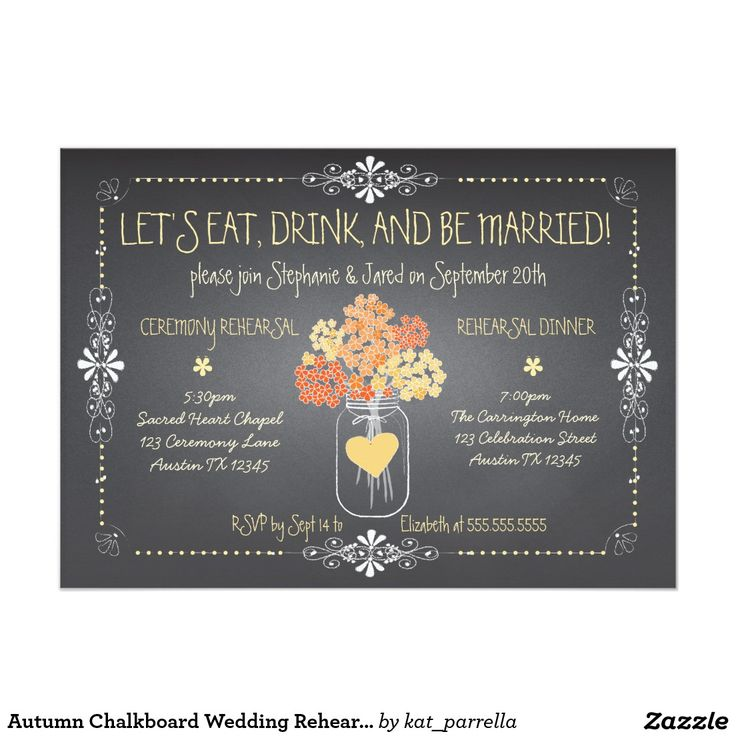43 best Autumn wedding invitations images on Pinterest
