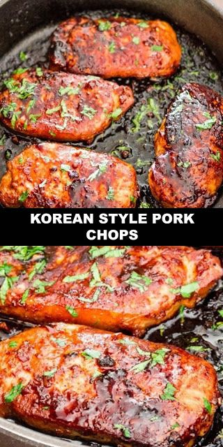 #The #World's #most #delicious #Korean #Style #Pork #Chops